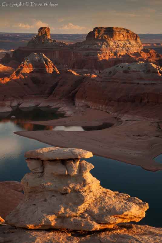 From the Utah side of Lake Powell