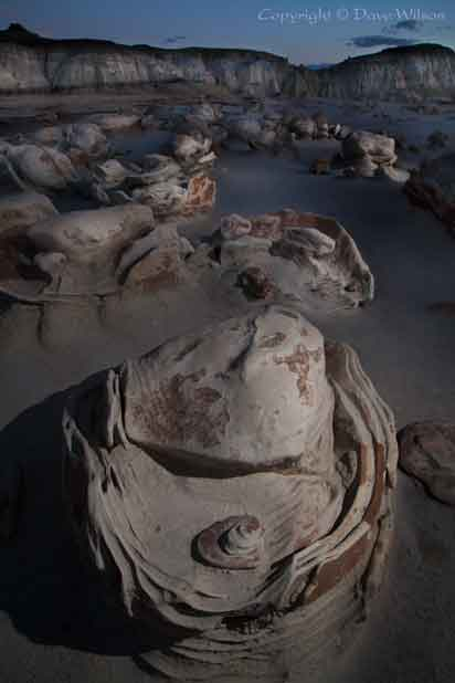 Bisti Wilerness New Mexico