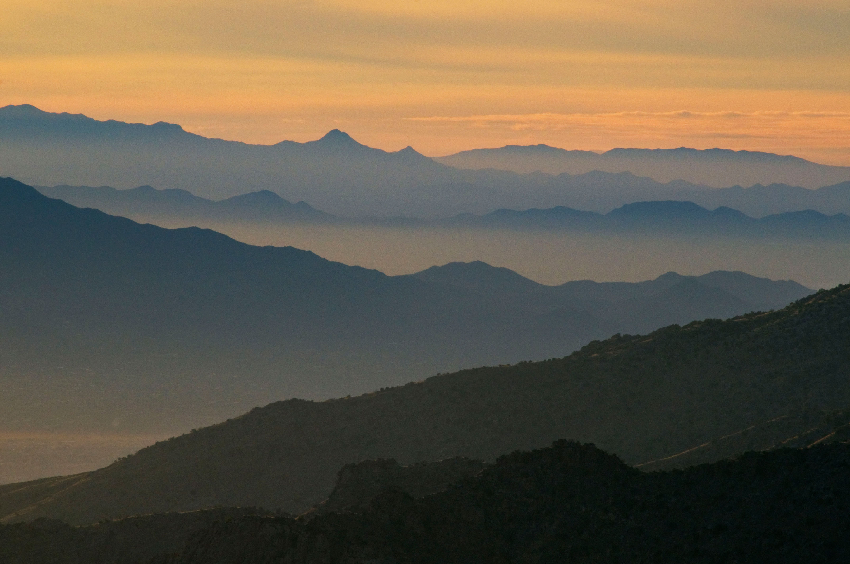 From Windy Point high in the Catalina Mts. looking southwest toward the Tucson Mts. and beyond
