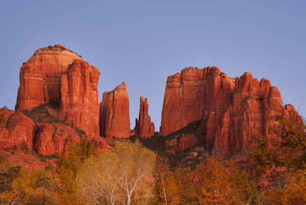 Cathedral Rock in the red rock country near Sedona, Arizona