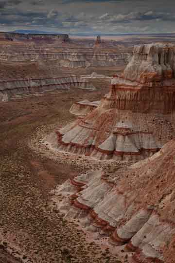 Coal Mine Canyon on the Hopi and Navajo Reservations in northern Arizona