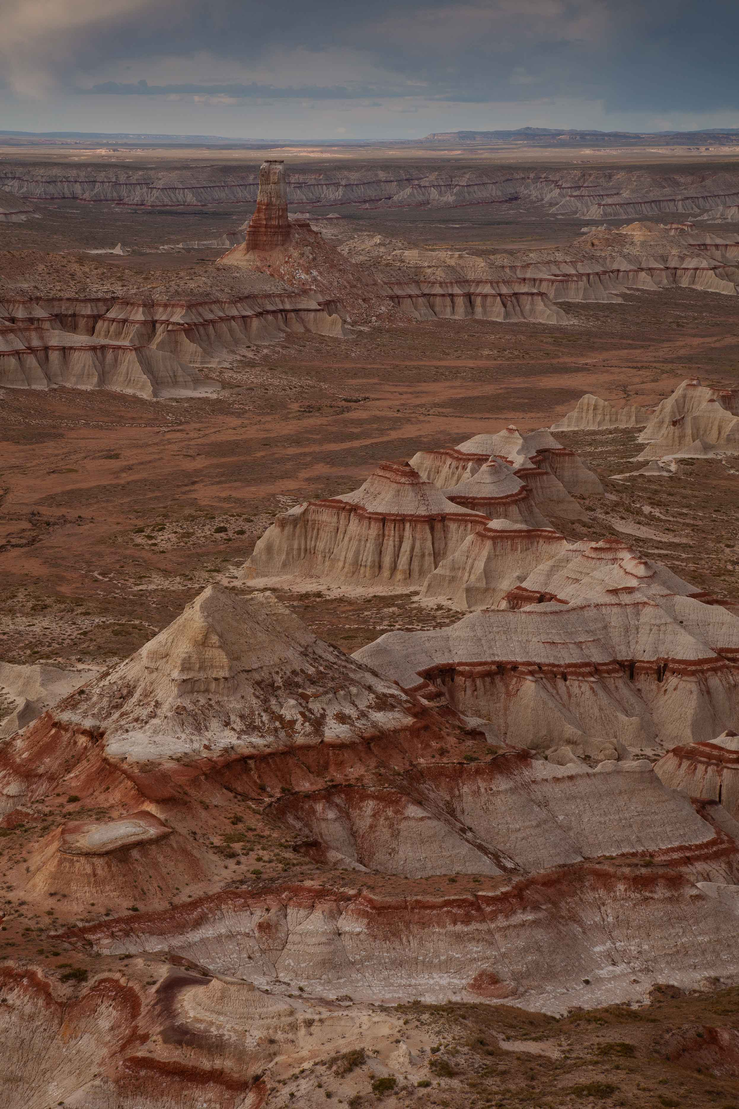Coal Mine Canyon on the Navajo and Hopi reservations in northern Arizona