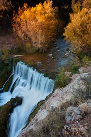 Fossil Springs on Fossil Creek, Arizona