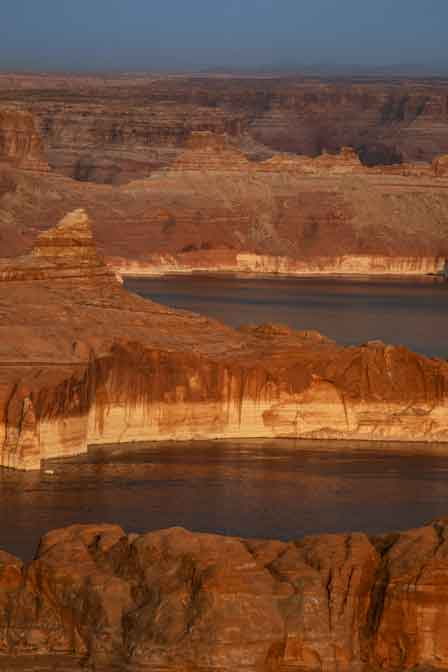 Lake Powell from near Alstrom Point on the Utah side