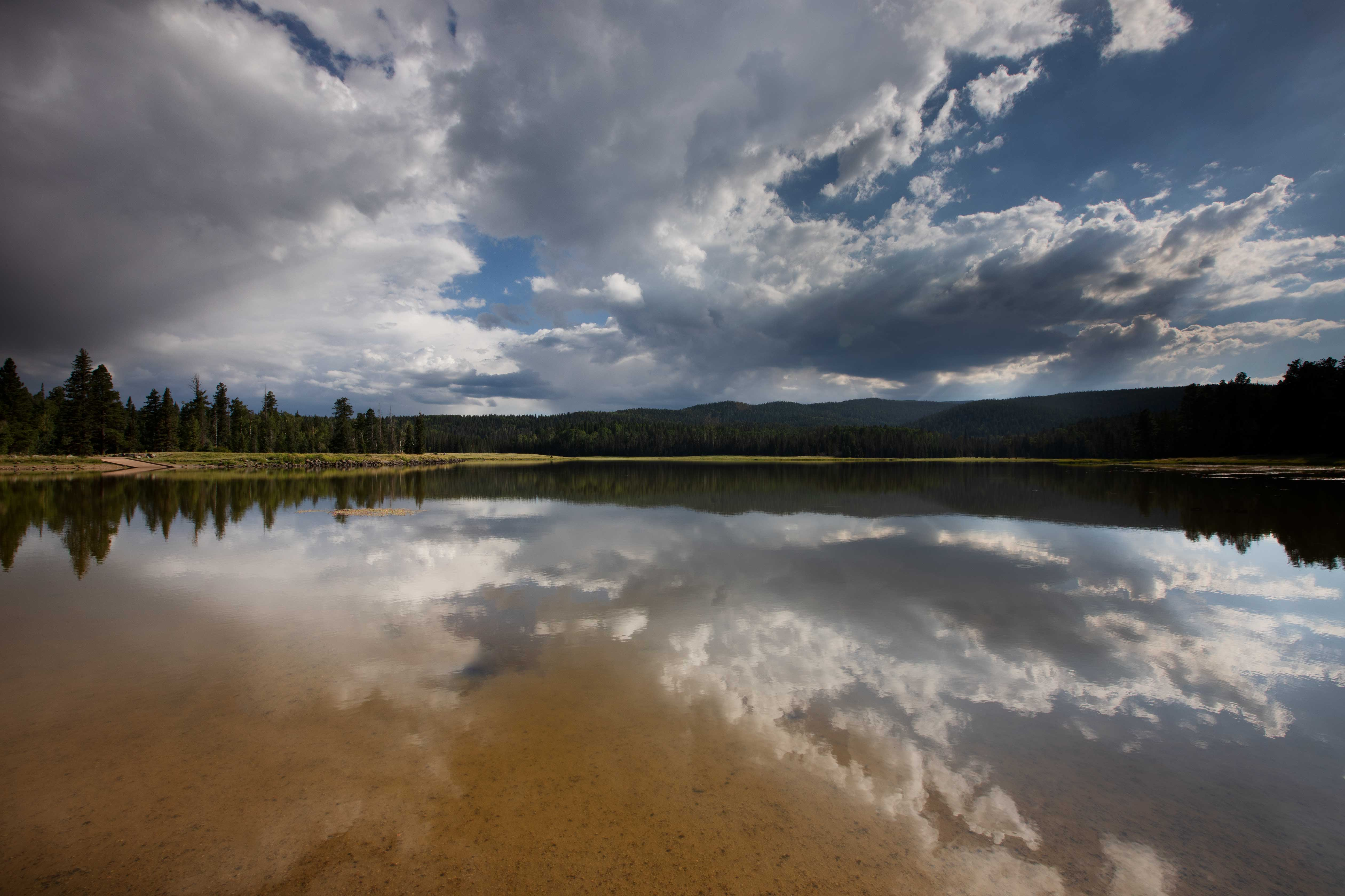 Lee Valley Lake in the White Mts. of eastern Arizona
